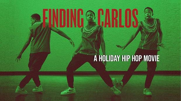 """Finding Carlos,"" a new holiday hip-hop movie inspired by the classic story ballet ""The Nutcracker,"" will be coming to theaters, television and streaming this December. [Poster image provided]"