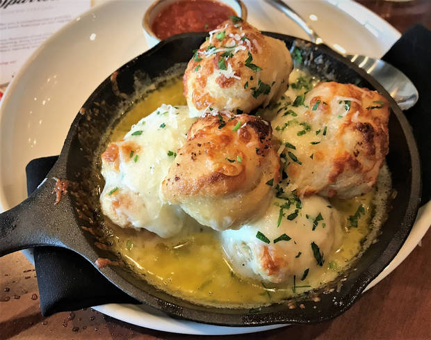 Garlic Knots from Sparrow Modern Italian in Edmond. [Dave Cathey/The Oklahoman]