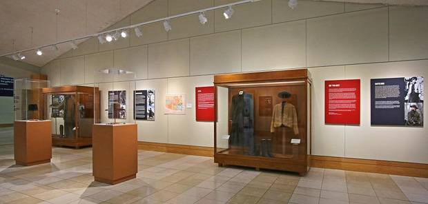 "The National Cowboy & Western Heritage Museum's exhibit ""Two Grits- A Peek Behind the Eyepatch"" explores the two different films made from the 1968 novel ""True Grit"" by Charles Portis. [Photo by Doug Hoke/The Oklahoman]"