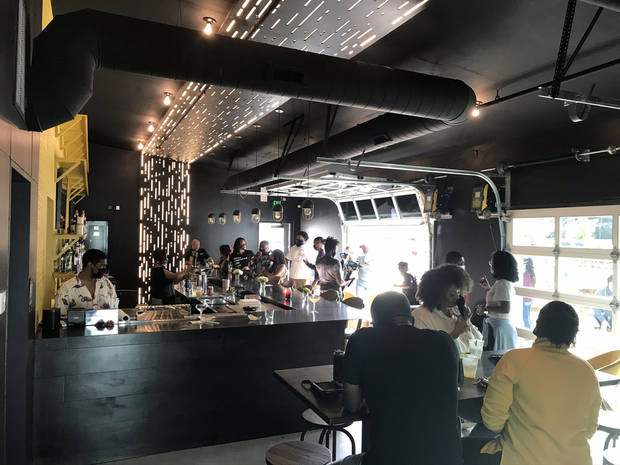 Kindred Spirits, a new bar opening at the end of October in the East Point development, had a soft opening event last weekend. [Dave Cathey/The Oklahoman]