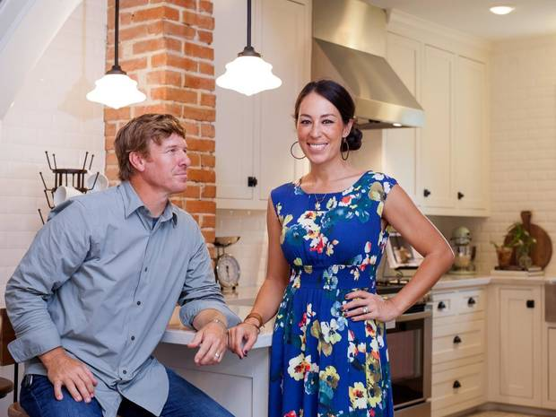 "Chip and Joanna Gaines, stars of ""Fixer Upper"" series. Their new home decor and lifestyle collection lands in Target stores Sunday."