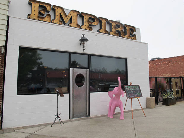 Empire Slice House is moving down the street later this year.