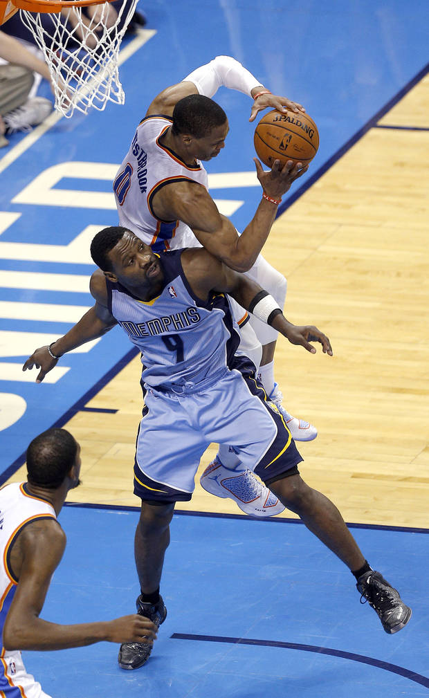 Tony Allen: I went hard against OKC 'because Sam Presti...