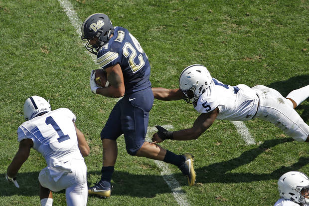 Pitt's defensive clapping was 'illegal,' Penn State coach James Franklin says
