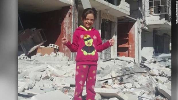 Syrian girl tweets from inside Aleppo