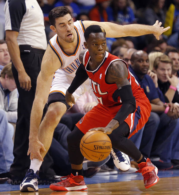 Thunder sends Anthony to Atlanta, acquires Hawks' Schroder