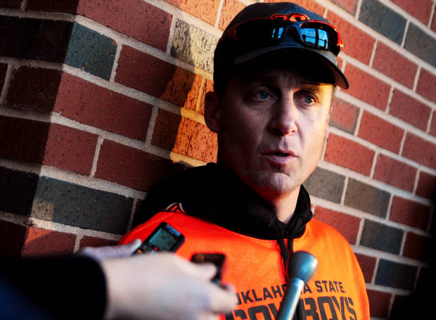 photo -  Like it or not, Mike Gundy is on the national radar. Photo by KT King/For the Oklahoman