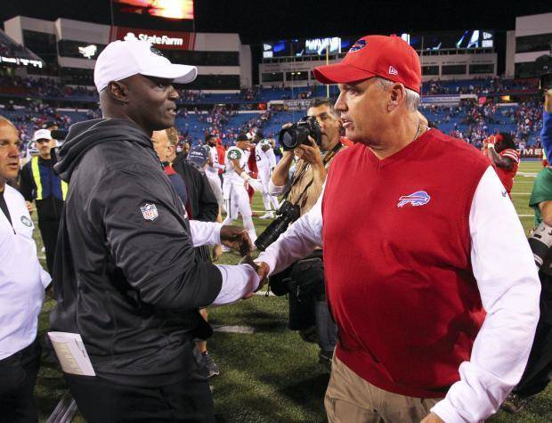 Bills owner backs Rex Ryan's decision to fire Greg Roman