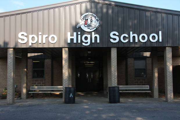 photo - Spiro High School. Photo via Spiro Public Schools' official website