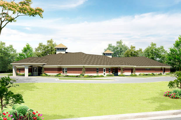 photo - This is a drawing of the planned Donald W. Reynolds Family Crisis Center in Stillwater.  Provided by Stillwater Domestic Violence Services