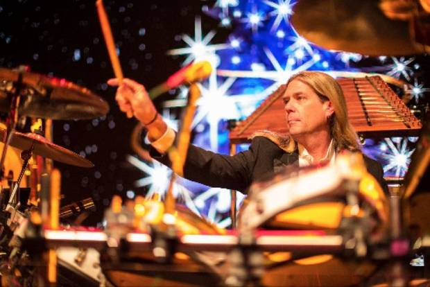 Tom Sharpe is the longtime drummer for Mannheim Steamroller. [Photo provided]