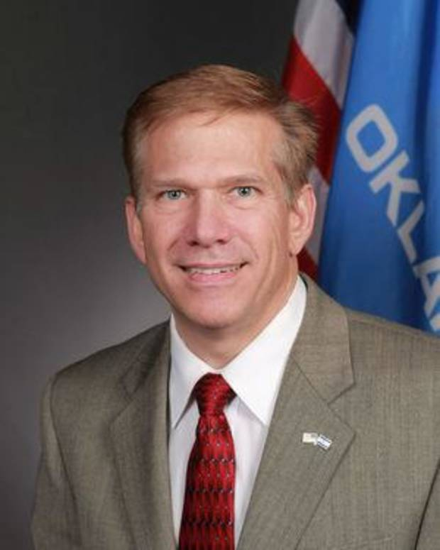Rep. Chuck Strohm, R-Jenks Photo via Tulsa World