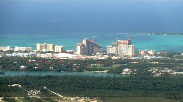 photo -       This is a view of Baha Mar from the air.