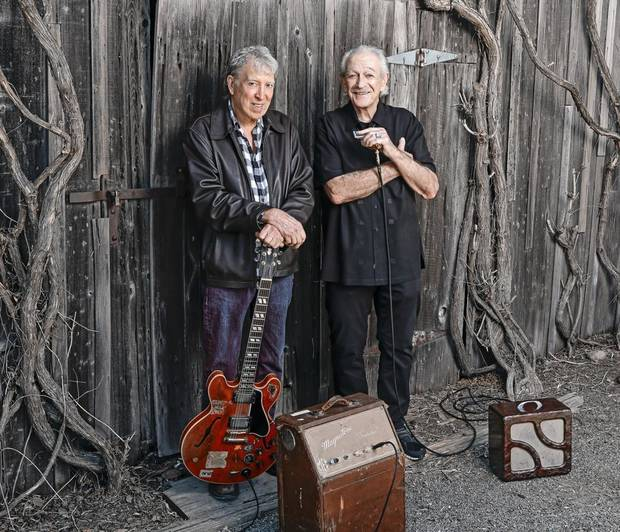 Elvin Bishop, left, and Charlie Musselwhite [Photo provided]