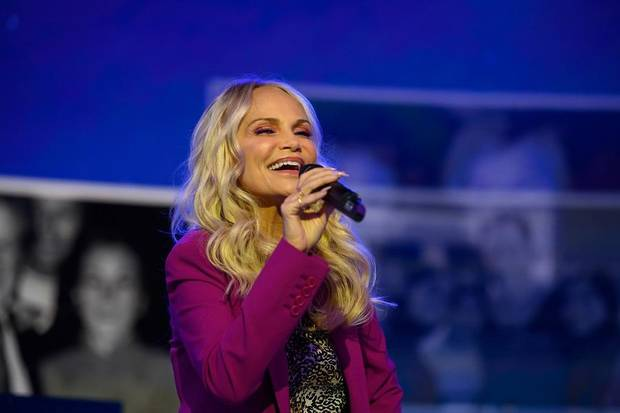 "Kristin Chenoweth performs on the ""Today"" show on Thursday, April 4, 2019. [Photo by Nathan Congleton/NBC]"