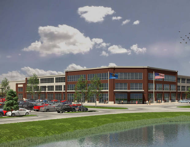 photo -  Kimray Inc. wants to build a new 90,000 square-foot office building at E. Britton Road and N. Eastern Ave. as part of plans for a new headquarters in Northeast Oklahoma City.
