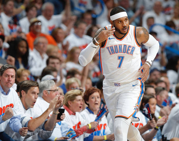 Thunder, Carmelo Anthony Reportedly Will Part Ways Sometime This Summer
