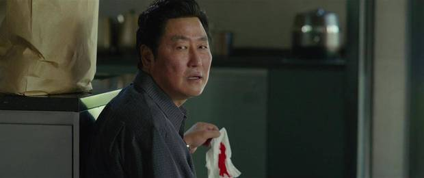 "Kang-Ho Song in ""Parasite."""