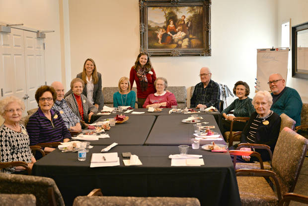 The Mature Moves team with a focus group at Concordia Life Care Community learning how they can help seniors most effectively. Photo provided.