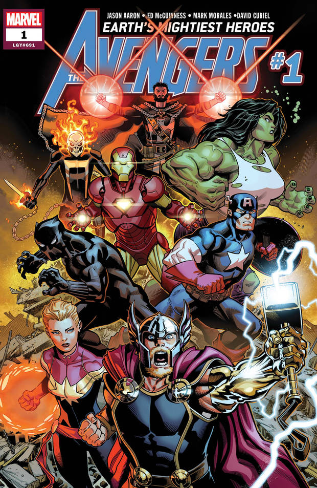 """Avengers"" #1 (2018) Marvel Comics"