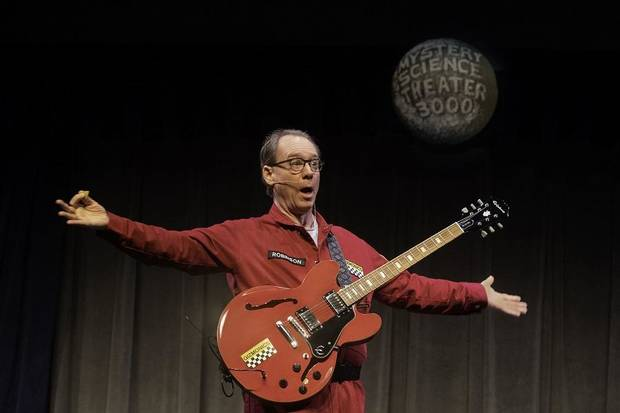"Joel Hodgson returns as Joel Robinson in ""Mystery Science Theater 3000 Live: The Great Cheesy Movie Circus Tour."" [Photo by Brandi Morris]"