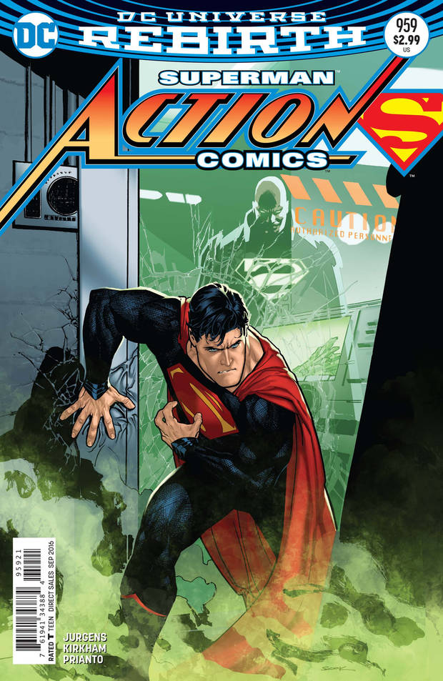 "The variant cover to ""Action Comics"" #959. [DC Comics]"