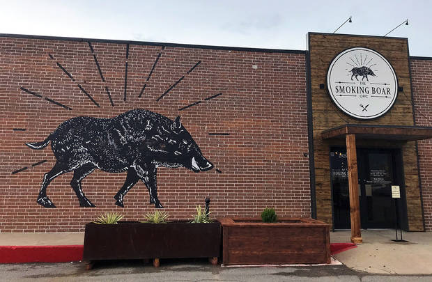 The Smoking Boar opened last week in northwest Oklahoma City. [Dave Cathey/The Oklahoman]
