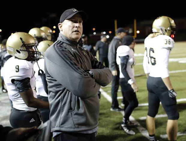photo -  Broken Arrow coach Steve Spavital resigned Monday, ending a seven-year run with the Tigers. Photo by Doug Hoke, The Oklahoman