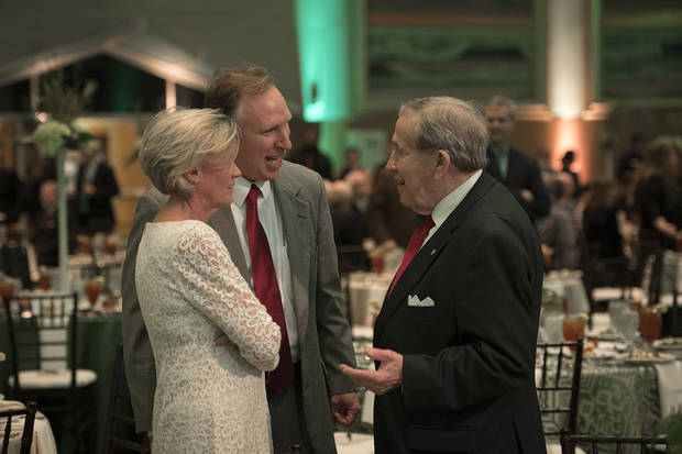 The Green and Gold Gala brings together the community to raise funds for scholarships. Photo provided by OBU.