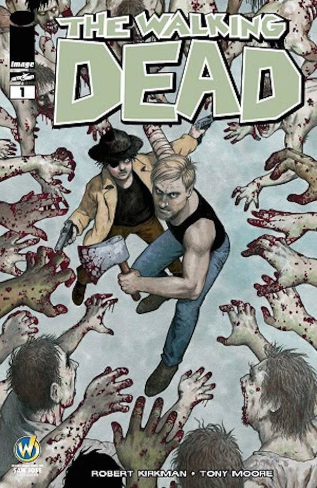 """The Walking Dead"" Colleen Doran cover."