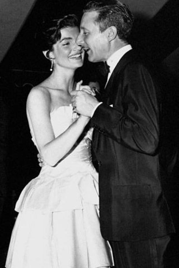 Jackie Kennedy and designer Oleg Cassini.