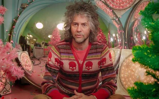 "Wayne Coyne in a scene from the documentary ""Jingle Bell Rocks!"" which focuses on Christmas music collectors and creators. [Photo provided]"