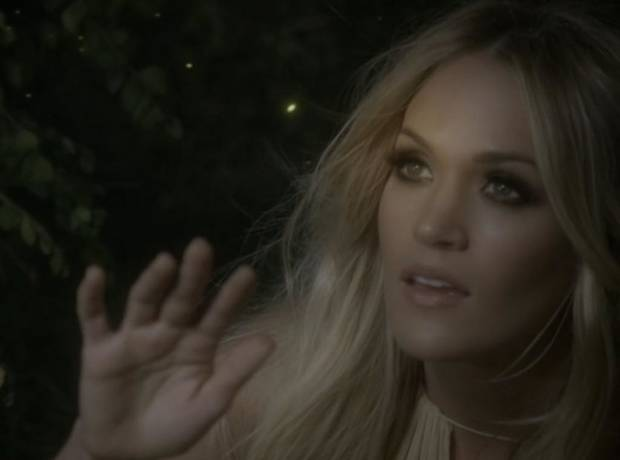 Video: Carrie Underwood debuts 'Heartbeat' music video