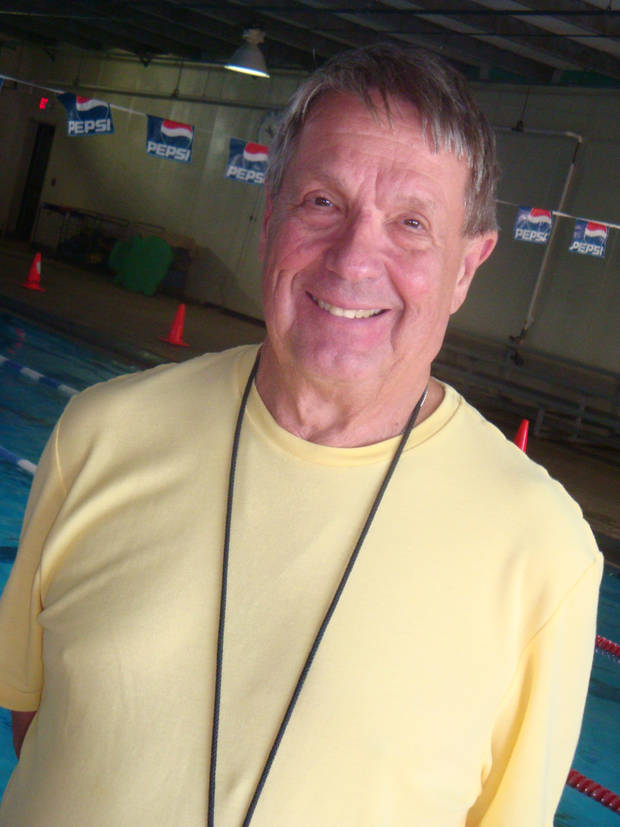 Long-time swim coach Phil Brougher will be honored with an 80th birthday party on Saturday. (Photo provided)