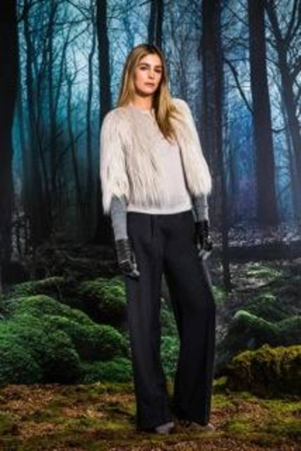 Fur is a huge trend this fall. Photo provided by CK & Co.