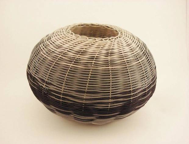 photo - Basket by artist Andrea Kissinger. Photo provided