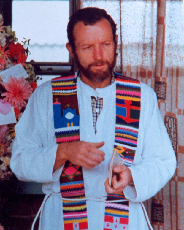 The Rev. Stanley Rother is shown in Guatemala. [Photo provided by the Archdiocese of Oklahoma City]