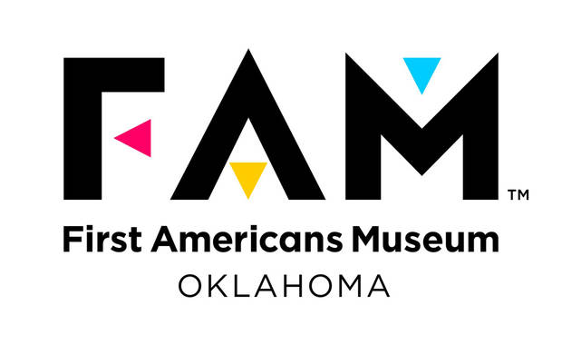The new logo mirrors the mission of the First Americans Museum opening in 2021 in Oklahoma City. [First Americans Museum]