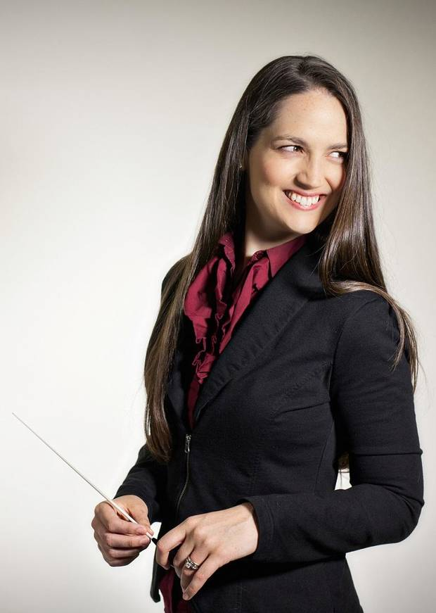 Michelle Merrill will be the guest conductor at the Oklahoma City Philharmonic's Nov. 18 Classics concert. Photo provided