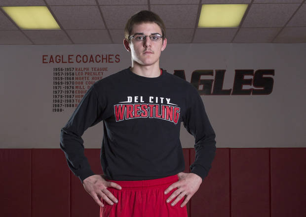 photo - Del City wrestler Clayton Lamb. PHOTO BY OKLAHOMAWRESTLING.ORG