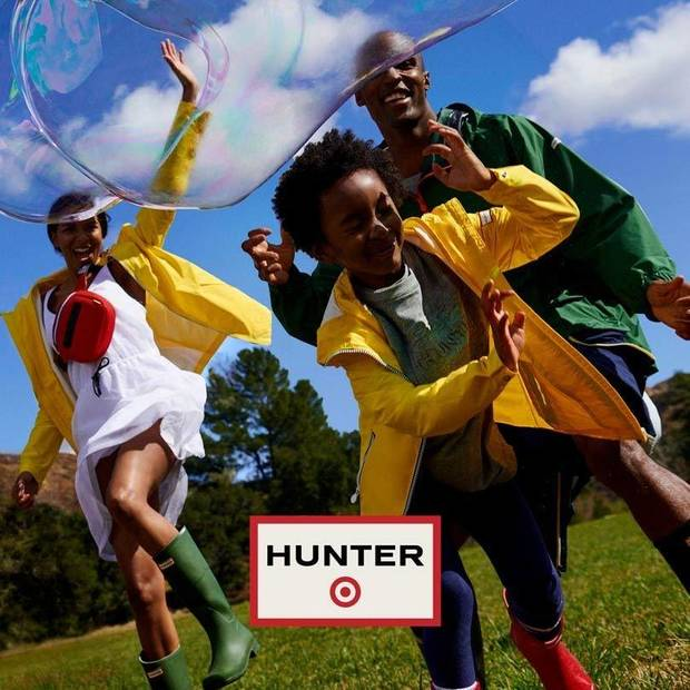 Hunter for Target, a new lifestyle limited-edition coming to Target on April 14.