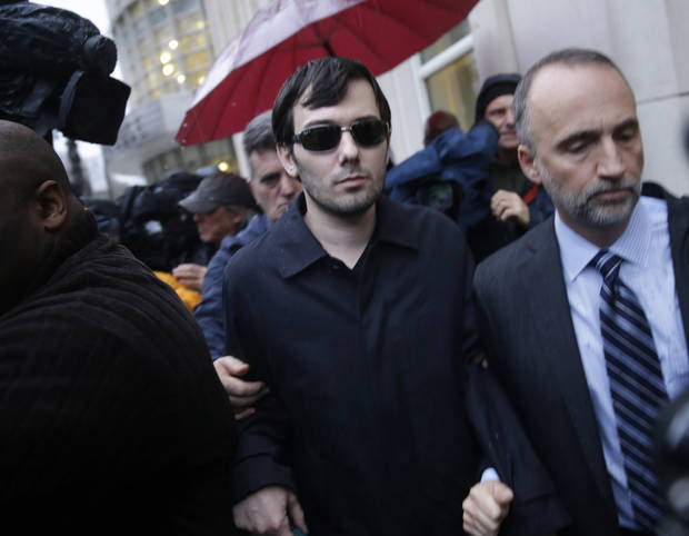 Martin Shkreli resigns from Turing Pharmaceuticals
