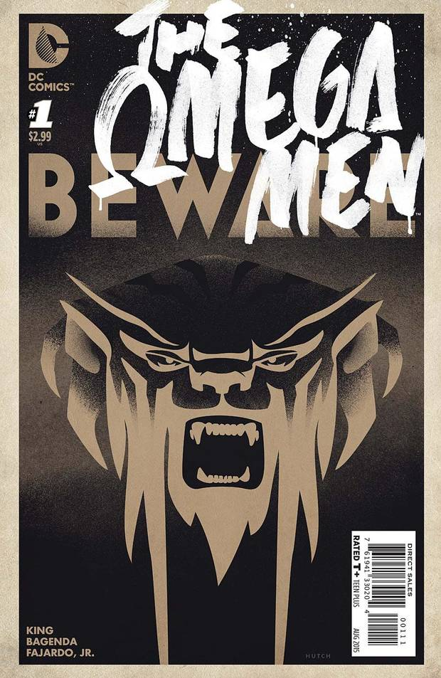 "The first issue of vol. 3 of ""The Omega Men."" (DC Comics)"