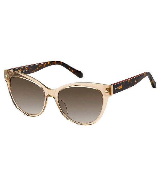 Fossil retro cat-eye gradient sunglasses available at Dillard's. [Photo Provided]