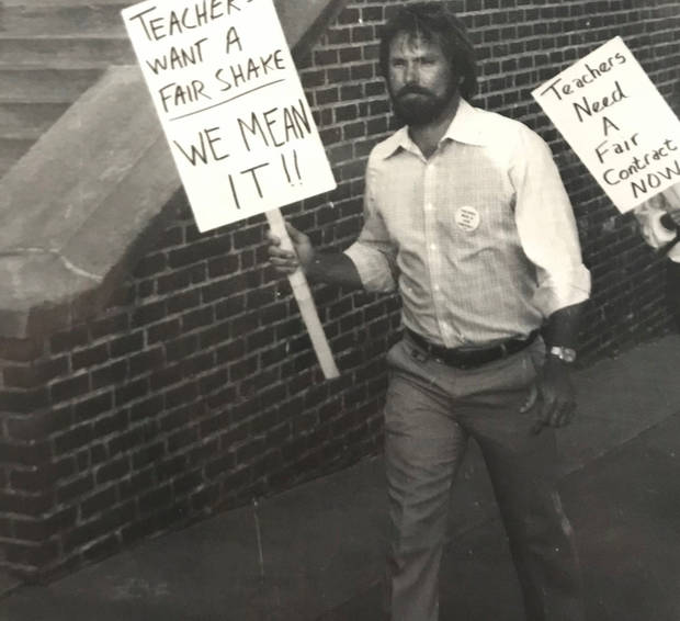 Jim McGinley was one of nearly 1,000 Oklahoma City teachers who went on strike in 1979. (Photo provided)