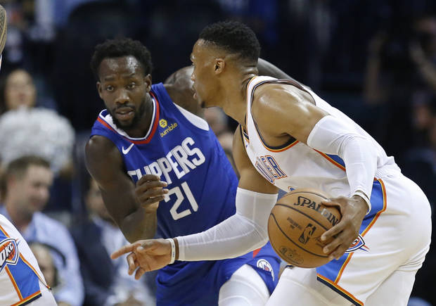 Russell Westbrook, Patrick Beverley reignite rivalry on court, draw police presence