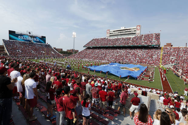 photo -  Gaylord Family-Oklahoma Memorial Stadium on the campus of the University of Oklahoma could undergo significant renovations in the coming years. OKLAHOMAN ARCHIVE PHOTO
