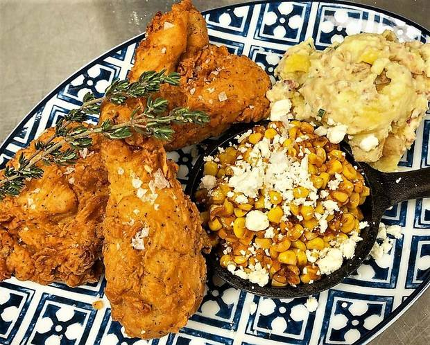 Jonas Favela's champion fried chicken is now available at The Union Wood-Fired Grill. [Photo Provided]