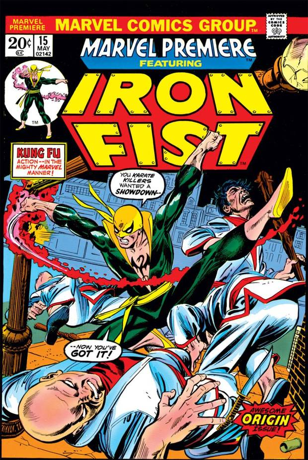 Iron Fist first appeared in Marvel Premiere #15. [Marvel Comics]