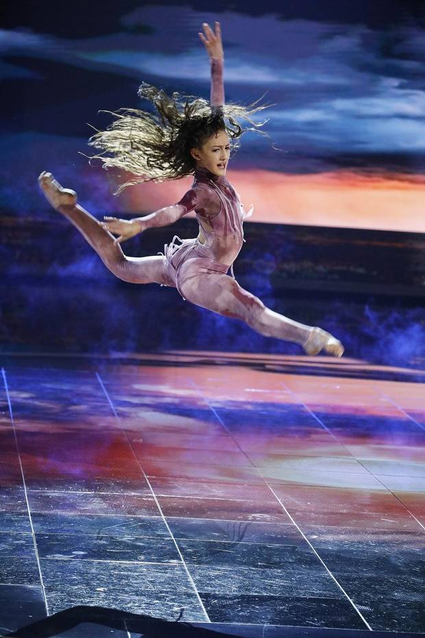 "Keagan Capps performs on the ""World of Dance"" semifinals. [Photo by Trae Patton/NBC]"